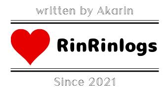 RinRin logs